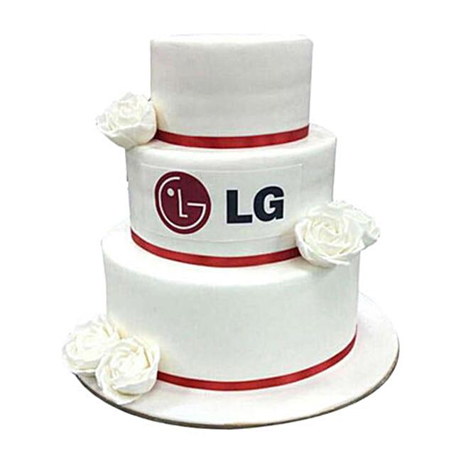 LG Corporate Cake
