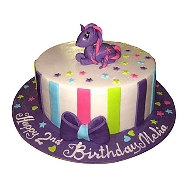 Mesmerizing Pony Cake
