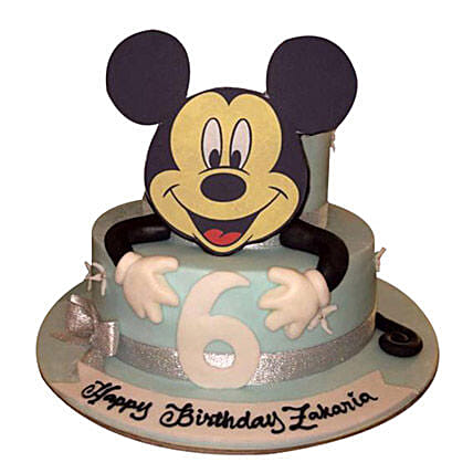 Mickey the Cartoon Cake