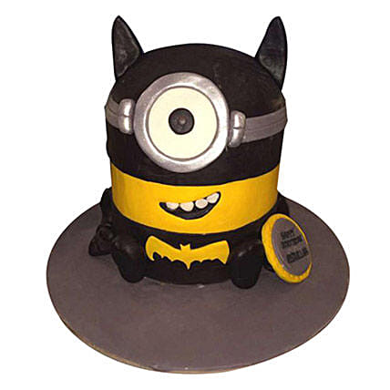 Minion Batman Cake