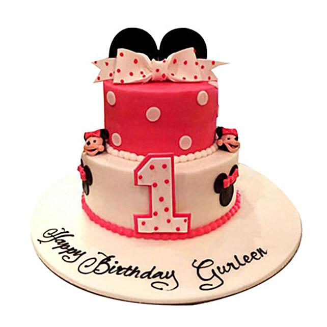 Minnie the cutie Cake