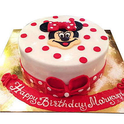 Pretty Minnie Cake