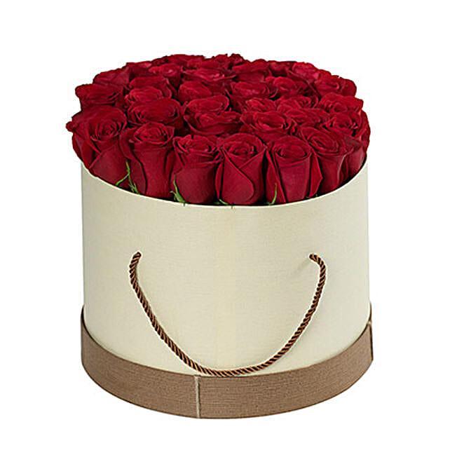 Spellbinding Red Roses Box