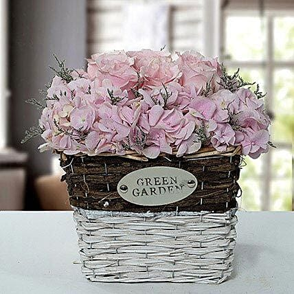 Stupendous Flower Basket Arrangement