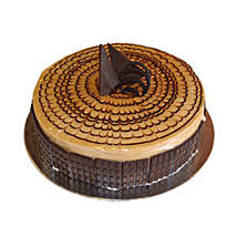 1 Kg Cappuccino Cake: Send Cakes for Anniversary