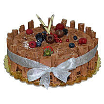 1 Kg Chocolate Flex Cake: Send Cakes for Anniversary