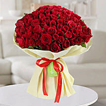 150 Red Roses Bunch: Valentine's Day Flower Delivery in UAE
