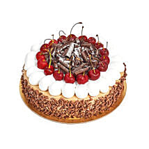 4 Portion Blackforest Cake: Half Kg Cakes to UAE