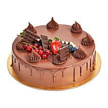 4 Portion Fudge Cake: Send Birthday Cakes to UAE