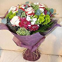 Amalgamation of the Nature: Same Day Flower Bouquet in Sharjah