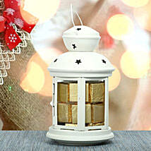 Assorted Chocolates With White T Light: Christmas Home Decor to UAE