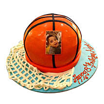 Basketball Ball Cake: Send Personalised Gifts to UAE