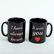 Black Love Mugs: Valentine's Day Gifts to UAE
