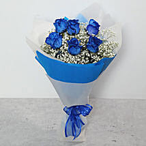Bouquet Of Blue Roses: Flowers for Anniversary