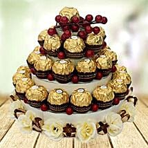 Chocolate Tower: Xmas Gifts for Parents to UAE