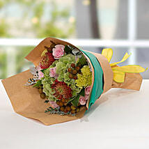 Exotic Flower Bouquet: Send Roses to UAE