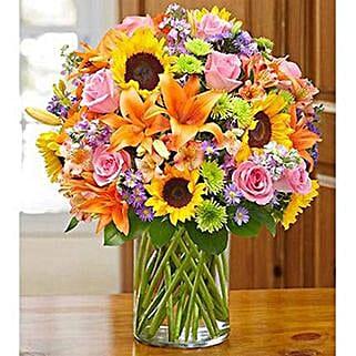 Garden of Grandeur: Friendship Day Flowers UAE