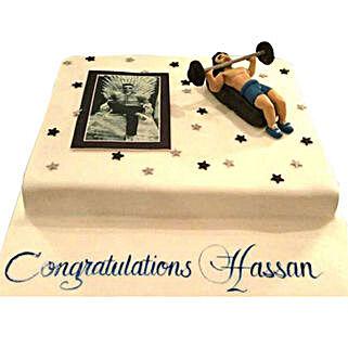 Gym Cake: Personalized Gifts Dubai UAE