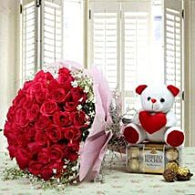 Hamper Showing love: Valentine's Day Gifts for Her to UAE