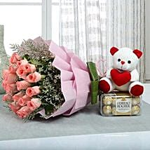 Hamper to Surprise U: Mother's Day Flower and Teddy Bears to UAE