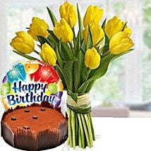 Happier Times: Birthday Flowers and Cakes to UAE