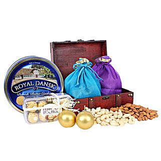 Healthy and Delicious Treasure Box: Gift Baskets UAE