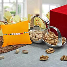 Healthy Bowl of Love: Rakhi with Dry Fruits to UAE