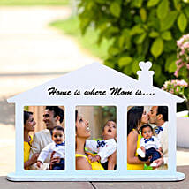 Home Shaped Personalized Frame: Personalized Gifts Dubai UAE