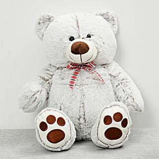 Light Grey Teddy Bear: Send Soft Toys to UAE