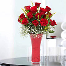 Long Stem Red Roses: Same Day Flowers for Him in Dubai UAE