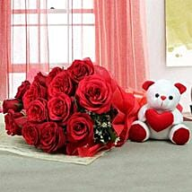Lovable Combo For U: Same Day Flower Delivery in Sharjah