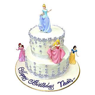 Lovely Princess Cake: