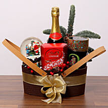 Merry Xmas Chocolate Hamper: Christmas Gift Delivery in UAE