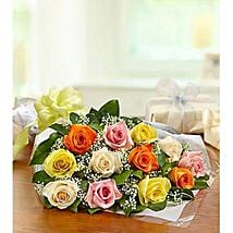 One Dozen Roses: Same Day Flowers for Him in Dubai UAE