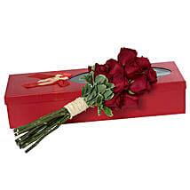 Passionate Red Roses Bouquet: Valentine's Day Flower Bouquets UAE