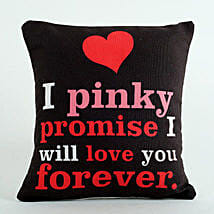 Pinky Promise Cushion: Valentine's Day Gift Delivery in UAE