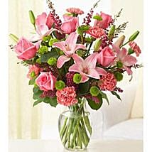 Pleasantly Pink: Same Day Flowers for Him in Dubai UAE