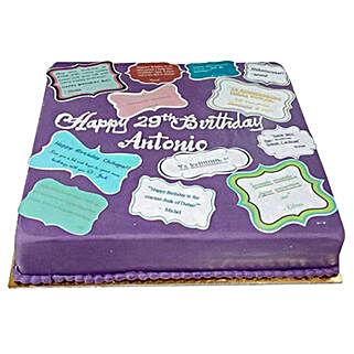 Printed Photo Cake: Send Photo Cakes to UAE
