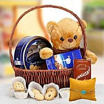 Rakhi with Cuddly Wishes: Rakhi Delivery in Sharjah