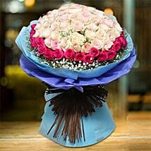 Royal Rose Bouquet: Same Day Flowers for Him in Dubai UAE