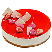 Strawberry Cheesecake: Birthday Cake Delivery in UAE