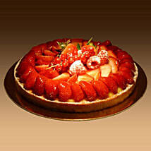 Strawberry Tart: Send Cakes to Sharjah
