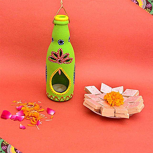 Bottle Tealight Diwali Sweetness