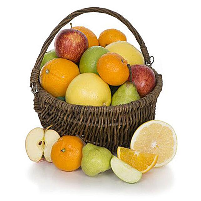 Fruit Basket With Chocolates