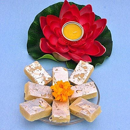 Lotus Tealight N Barfi