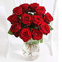 A Dozen Luxury Red Roses: Gifts to Manchester UK