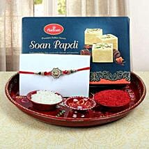 Aum Fancy Combo Rakhi: Send Rakhi to Glasgow