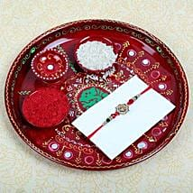 Aum Fancy Rakhi and Puja Thali: Rakhi to Glasgow