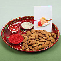 Celebration with Almonds: Send Rakhi to Glasgow