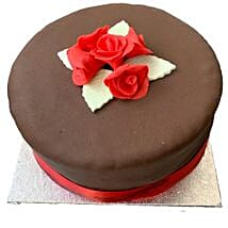 Chocolate Rose Cake: Valentine's Day Cakes to UK